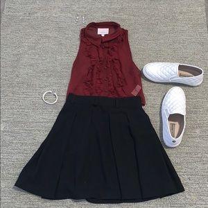 Abercrombie black skirt